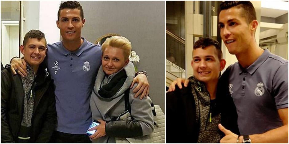 Real Madrid: Ronaldo reçoit un Polonais sorti du coma grâce à ses buts