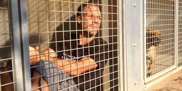 Rémi Gaillard enfermé dans une cage pour la bonne cause ! - La DH
