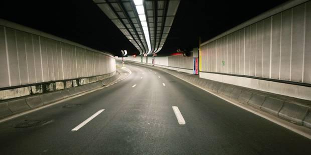 Le tunnel Belliard fermé tout le week-end - La DH