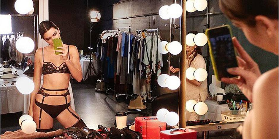 Porte-jarretelles et poses coquines: la demi-soeur de Kim Kardashian affole la toile... puis quitte Instagram (PHOTO)