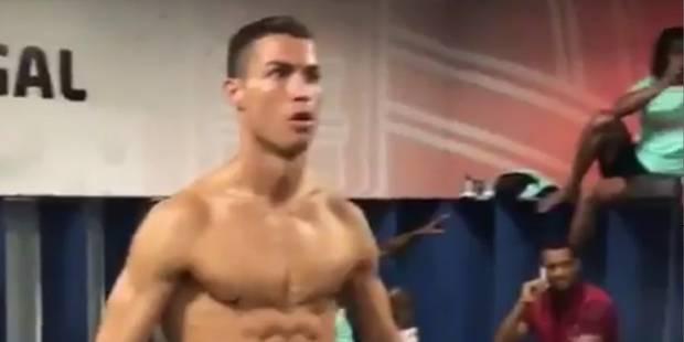 Cristiano Ronaldo montre ses abdos dans un Mannequin Challenge de l'équipe du Portugal - La DH