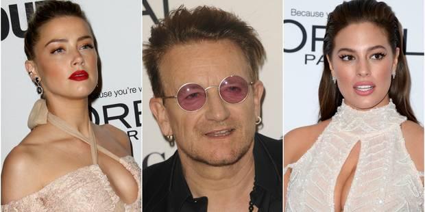 "Le retour d'Amber Heard aux ""Glamour Women of the Year Awards"" - La DH"