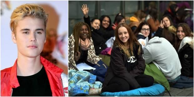 A Madrid, des fans de Justin Bieber attendent leur idole depuis des semaines - La DH