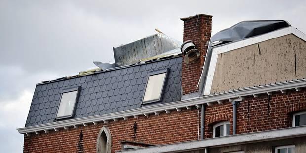 La toiture d'une école sérieusement touchée - La DH