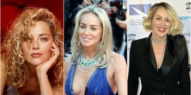 Sharon Stone en 20 coupes de cheveux - La DH