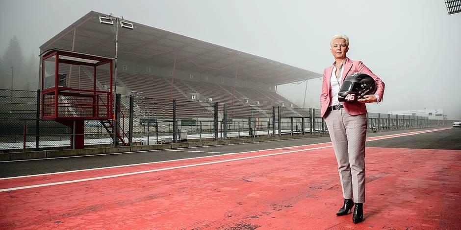 Nathalie Maillet , directrice du circuit de Spa-Francorchamps