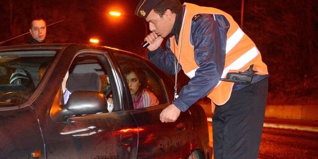 Bruxelles: 38 conducteurs sanctionnés lors d'un contrôle anti-drogue et alcool - La DH