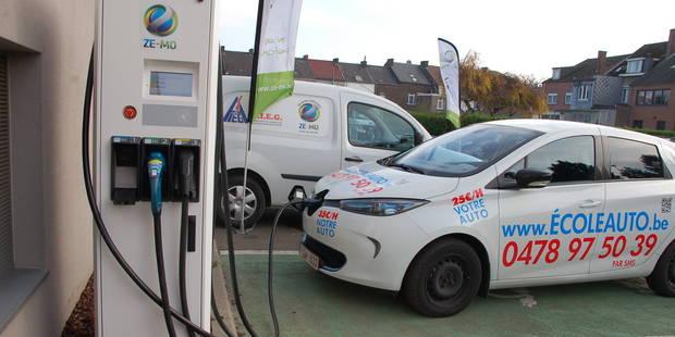 Andenne : votre voiture électrique rechargée en 30 min - La DH