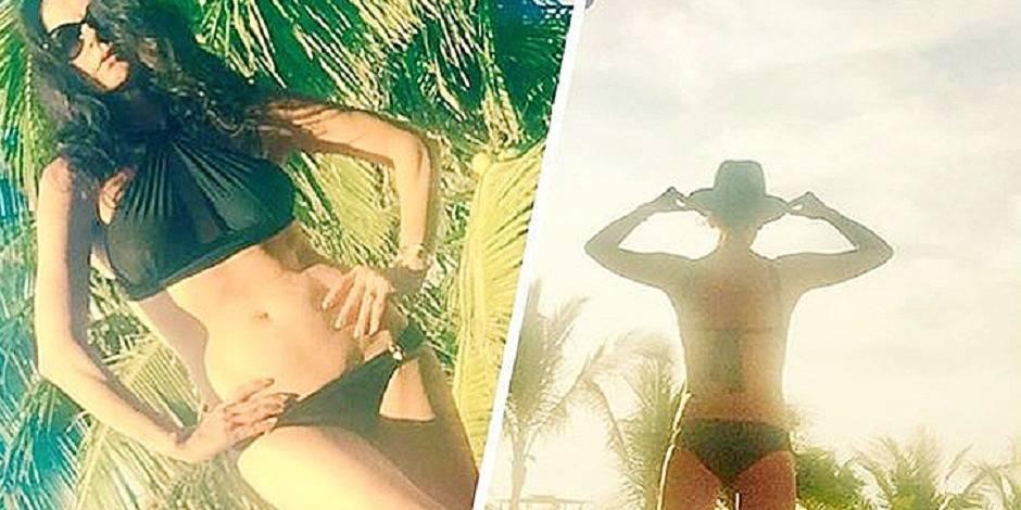 La réponse sexy de Catherine Zeta-Jones aux paparazzi