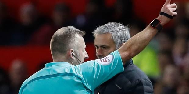 Mourinho à nouveau poursuivi par la Fédération pour mauvaise conduite (VIDEO) - La DH