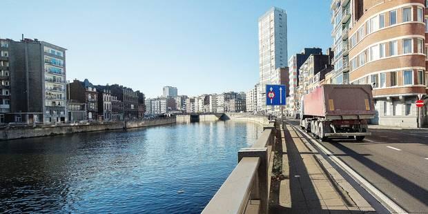 Liège : des bacs à poissons dans la Dérivation - La DH