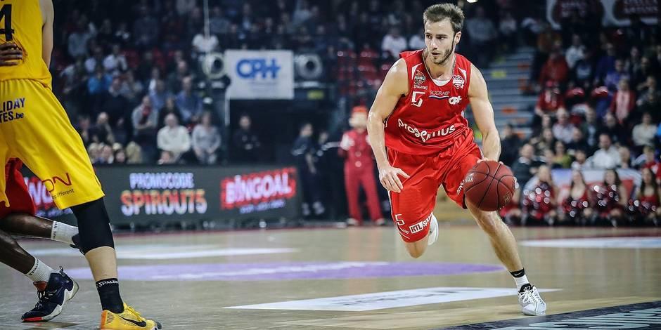 Basket 6 journée/Spirou Charleroi-Ostende