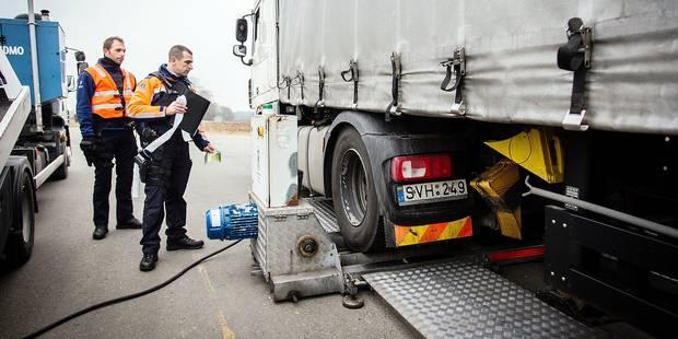 Sprimont : Opération d'envergure de contrôle des camions - La DH