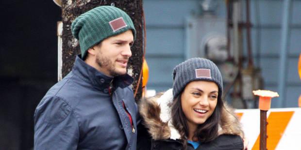 Mila Kunis et Ashton Kutcher parents pour la deuxième fois - La DH