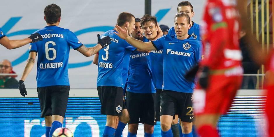Appliqué, le Club de Bruges s'impose contre Ostende et revient à un point du leader