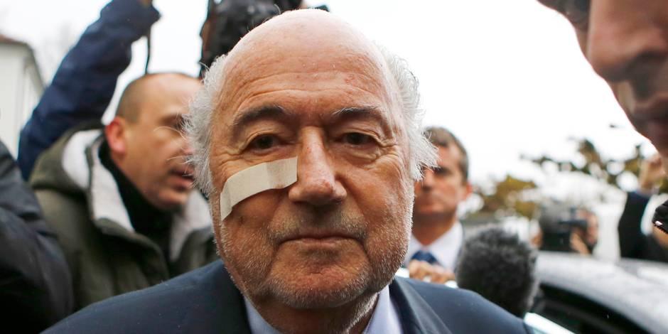 Suspension de 6 ans de toute activité liée au foot maintenue pour Blatter