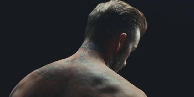 Poignant: les tatouages de David Beckham racontent la violence faite aux enfants - La DH