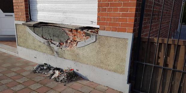 Terrible accident dans le Tournaisis: Un automobiliste fonce dans une façade - La DH