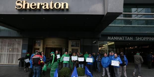 Le Sheraton de Bruxelles en faillite: 200 emplois menacés - La DH