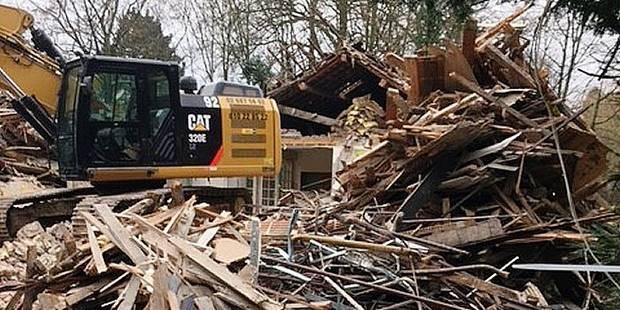 Woluwe-Saint-Pierre: le cottage du majordome détruit par un promoteur - La DH