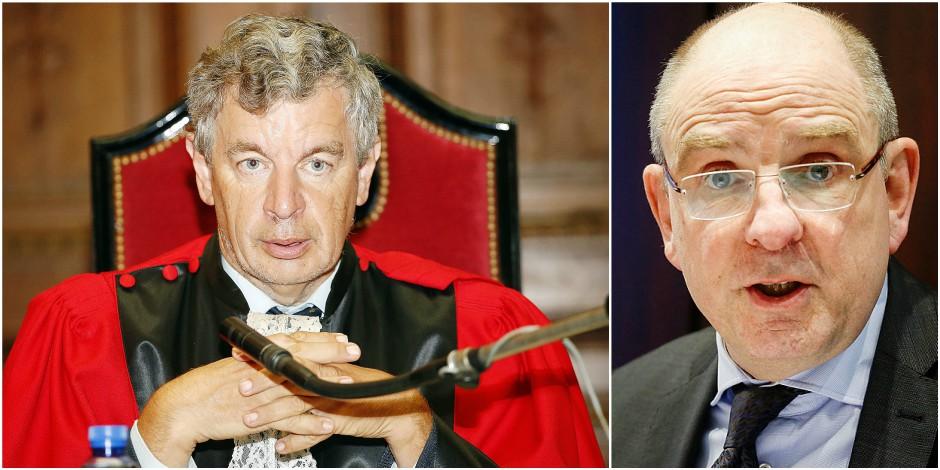 """Le magistrat Michel De Grève attaque la réforme de la justice et son ministre: """"Geens, un honnête homme coincé par son g..."""