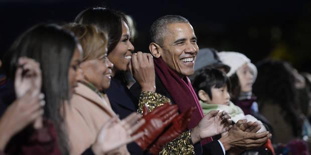 La dernière carte de voeux de Barack Obama - La DH