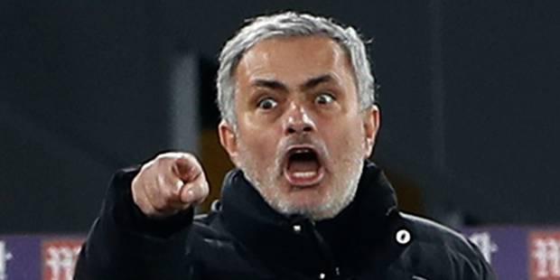 Le drôle de cadeau de Noël du père Mourinho - La DH
