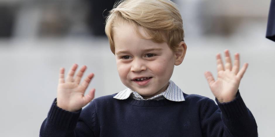 Impatient, le prince George a déjà ouvert ses cadeaux de Noël