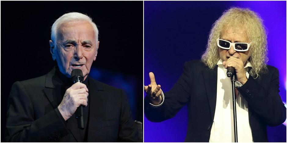 Quand Charles Aznavour se moque ouvertement de Michel Polnareff