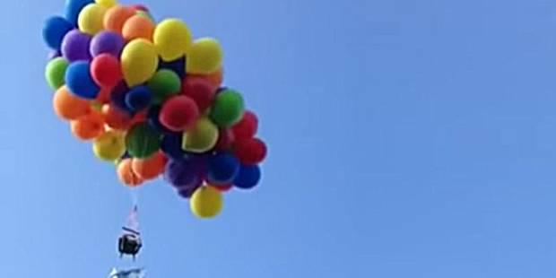 Un Canadien condamné pour avoir volé à l'aide... de 100 ballons d'hélium (VIDEO) - La DH