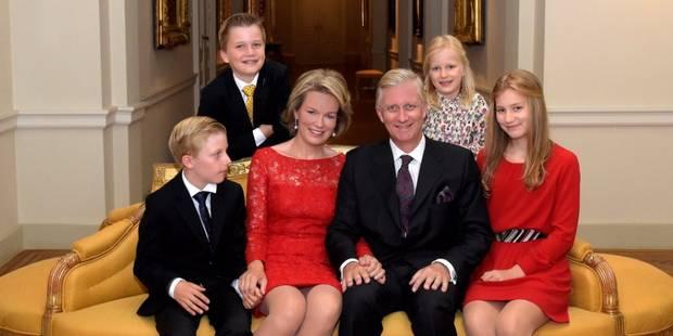 Les familles royales vous souhaitent de belles fêtes - La DH