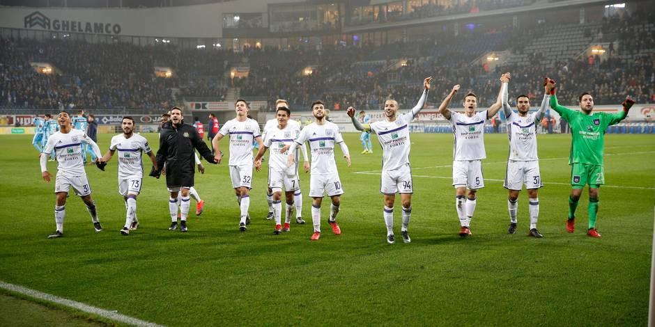 Charleroi-Anderlecht: Beaucoup de Mauves sous la menace de suspension