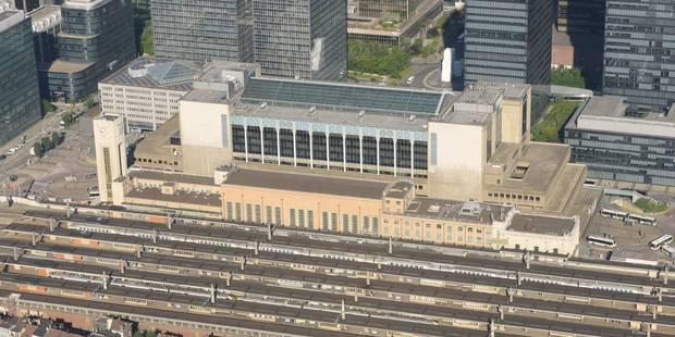 Fausse alerte à la bombe à la gare du Nord de Bruxelles - La DH