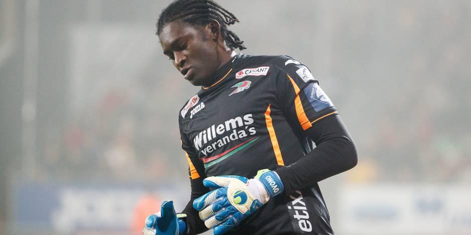 CAN: Didier Ovono, la portier d'Ostende, dans la liste des 23 du Gabon