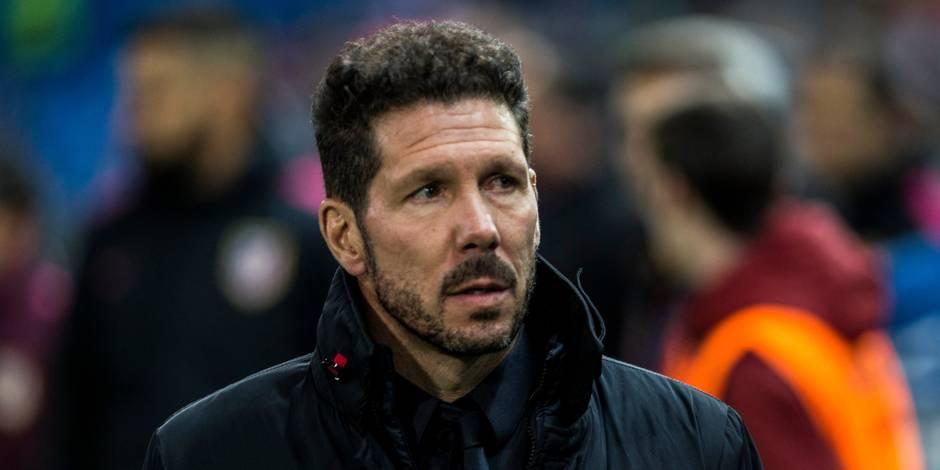Diego Simeone désigné entraîneur de l'année