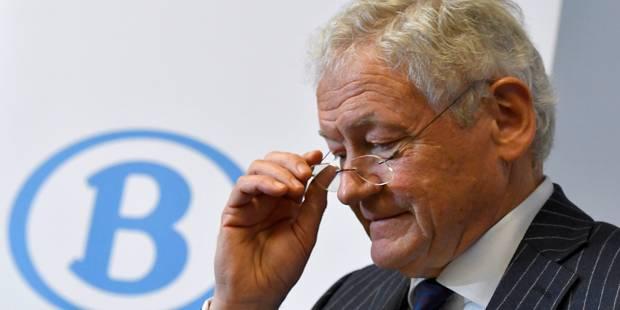 """François Bellot: """"Pas question de double salaire pour les directeurs de la SNCB"""" - La DH"""