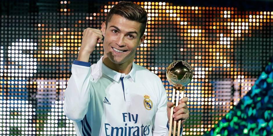 Encore un trophée individuel pour Cristiano Ronaldo en 2016