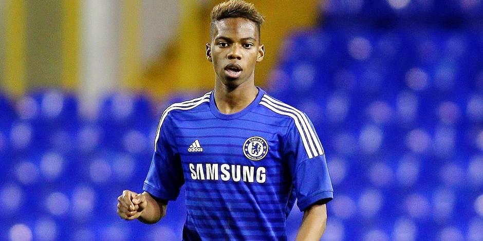 Charly Musonda of Chelsea BPI_Tottenham_v_Chelsea_FaYouthCup_mze_028 JPG