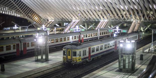 Fausse alerte à la bombe à la gare de Liège-Guillemins - La DH