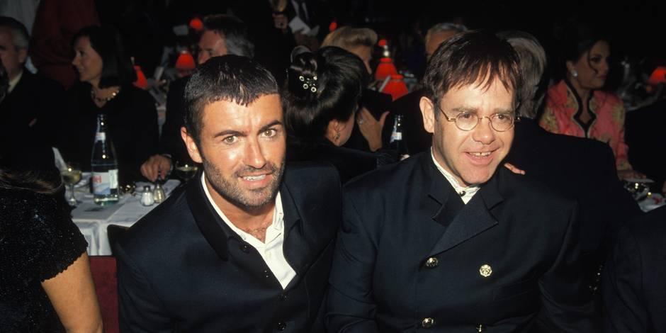 Elton John fond en larmes en dédicaçant une chanson à George Michael