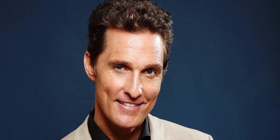 """McConaughey: """"La route fut longue avant qu'on reconnaisse mon travail !"""" - La DH"""