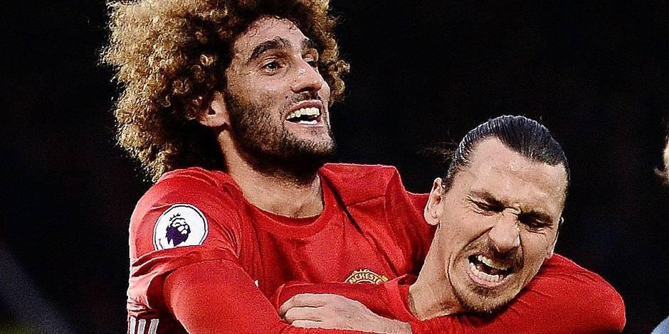 A Manchester, Mourinho ne lâche pas Marouane Fellaini