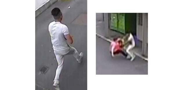 Vol avec violence à La Louvière : reconnaissez-vous cet individu qui frappe une dame ? - La DH
