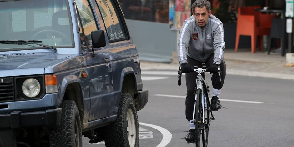 Sarkozy réprimandé par la police pour... une surprenante infraction