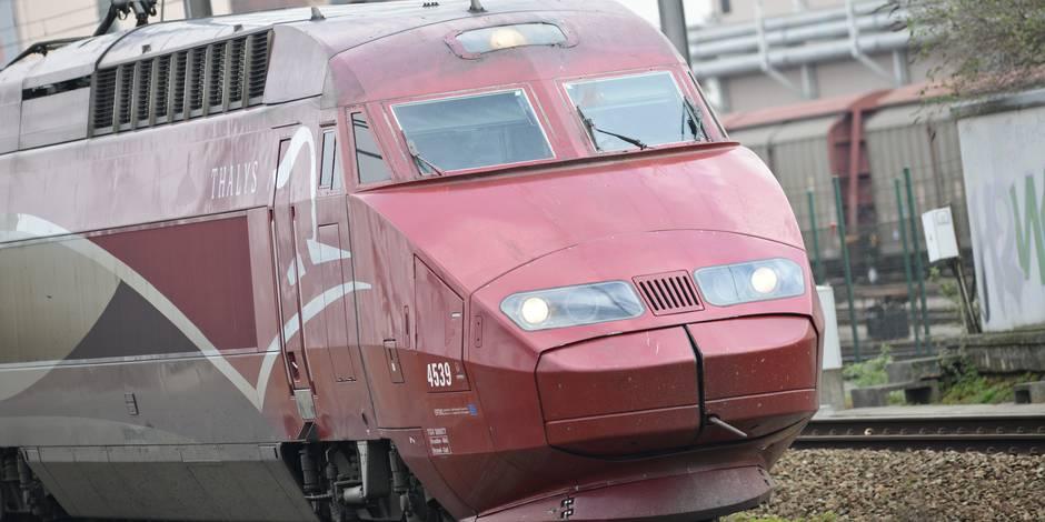 Circulation interrompue entre Bruxelles et Paris après un incendie — Thalys