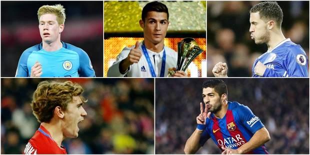 Le top 100 des joueurs qui vont marquer 2017 (de 10e à 1er) - La DH