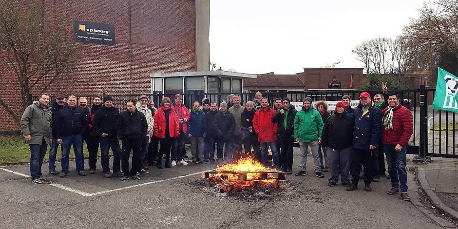 Ottignies: 70 travailleurs de CP Bourg sur le carreau