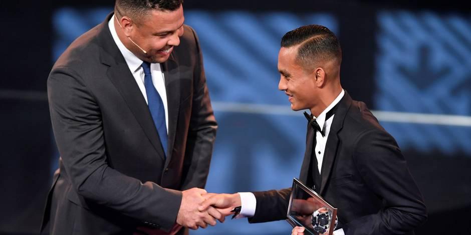 Le Prix Puskas pour le Malaisien Mohd Faiz Subri