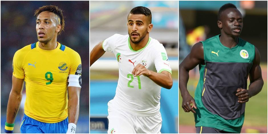 Mahrez, Aubameyang, Mané, etc.: les joueurs qui vont faire la Can 2017