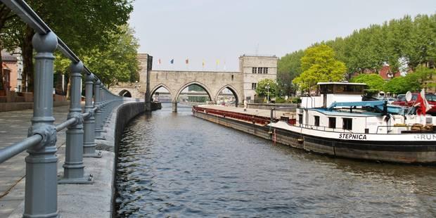 Tournai: les travaux d'élargissement de l'Escaut commenceront le 18 avril - La DH
